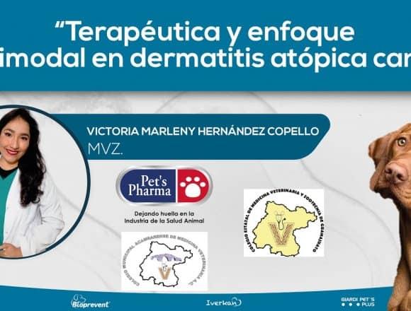 Terapéutica y enfoque multimodal en dermatitis atópica canina